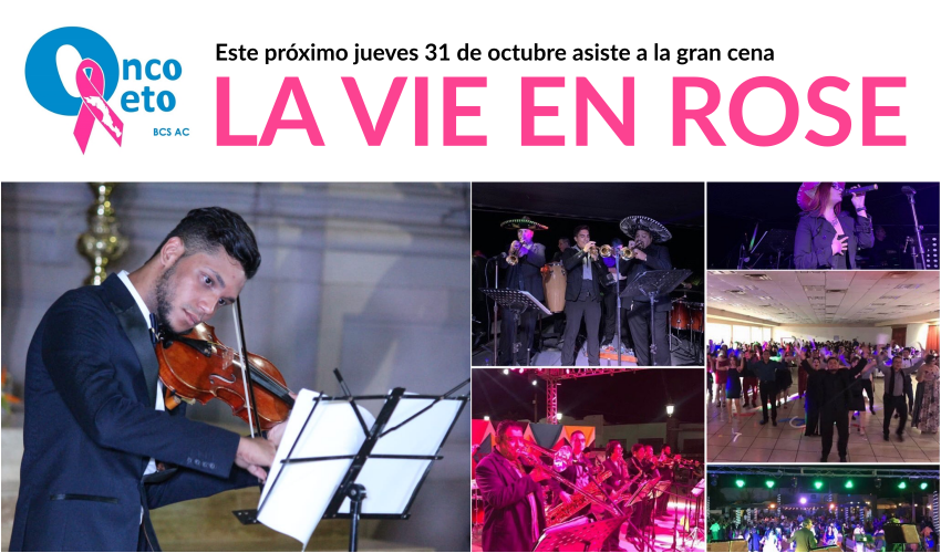 LA VIE EN ROSE ¡No faltes!