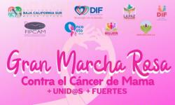 Te invitamos a la Gran Marcha Rosa: +Unid@s +Fuertes