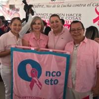 Arranque de campaña de la lucha contra el cáncer de mama en el DIF estatal